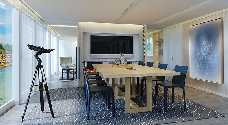 Viking Owner's Suite Boardroom