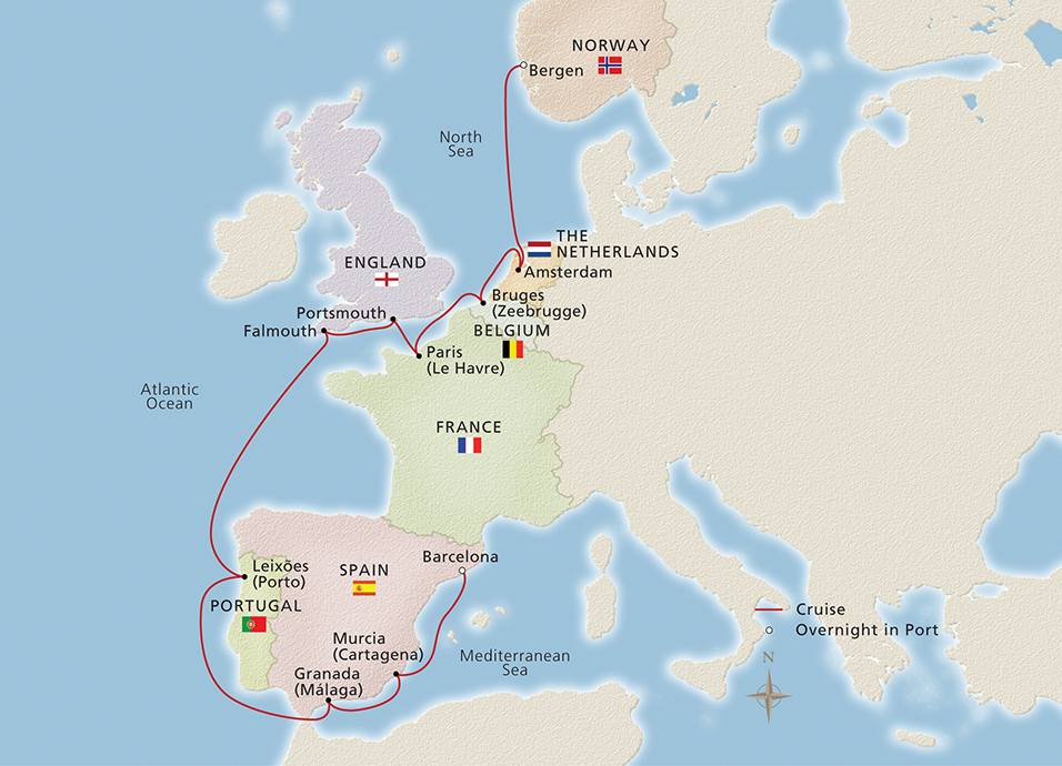 Trade Routes of the Middle Ages