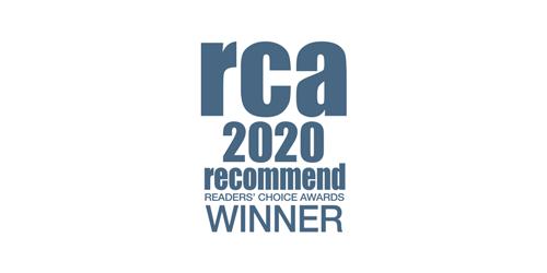 RCA 2020 winner logo