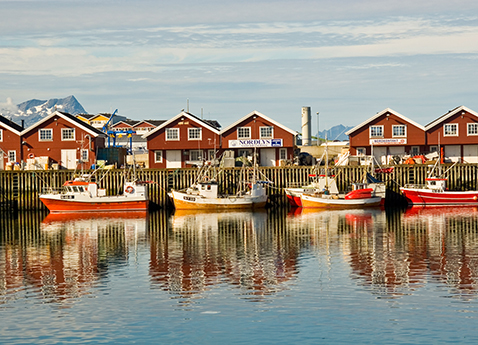 Boat harbor in Bodø