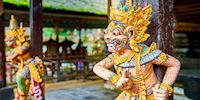 Traditional figures in Bali, Indonesia