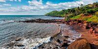 Anjuna Beachof Goa, India