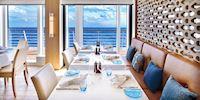 The restaurant on board a Viking ocean ship
