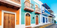 Colorful home in San Juan, Puerto Rico