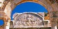 The Temple of Hadrian at Ephesus, Turkey