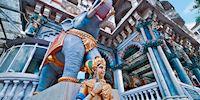 Jain temple detail