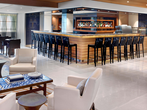 The Bar of Viking Cruises Ocean ships