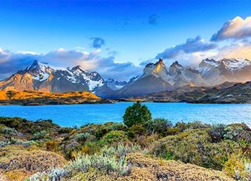 Lake Pehoe in Torres del Paine