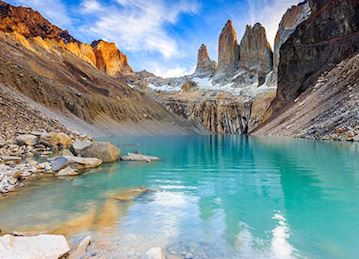 Lookout Lake in Torres del Paine