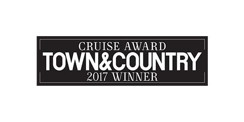 Town & Country Cruise Award 2017 Winner logo