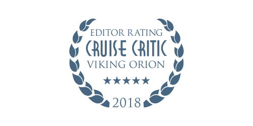 Cruise Critic Editor Rating for Viking Orion 2018 Award logo