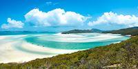 Whiteheaven Beach of the Whitsunday Islands